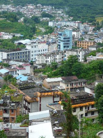 Wanding Ecological Park: 远眺中国畹町、缅甸九谷和邦赛的景色