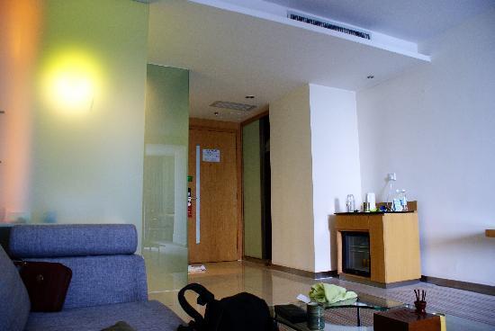 Shanshui Trends Hotel Zhaoqing Xijiang North Road: 自然采光的客厅