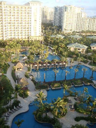 Howard Johnson Resort Sanya Bay: 酒店泳池