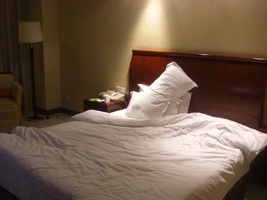 أوشن إنترناشونال هوتل - تايتشو: 舒服的大床,躺着舒服地睡觉