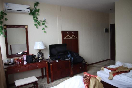 Go Happy Hotel : 酒店房间内观