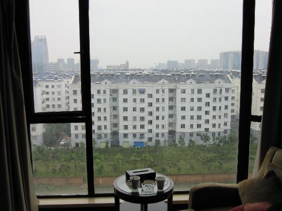 Yidu Jinling Grand Hotel : 窗外风光