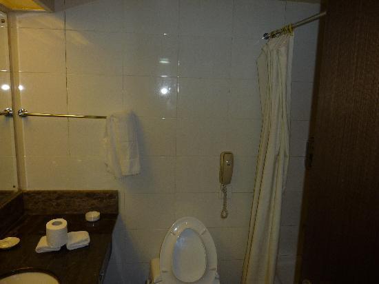 East International Hotel: 卫生间环境还可以