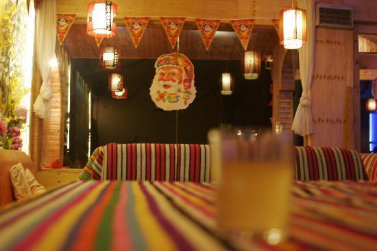 Muyun Manor Hostel: 客栈餐厅