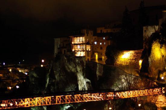 Parador de Cuenca: 窗外著名的空中楼阁