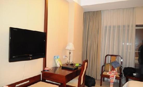 Sheyuan Heyi Hotel: 液晶电视机