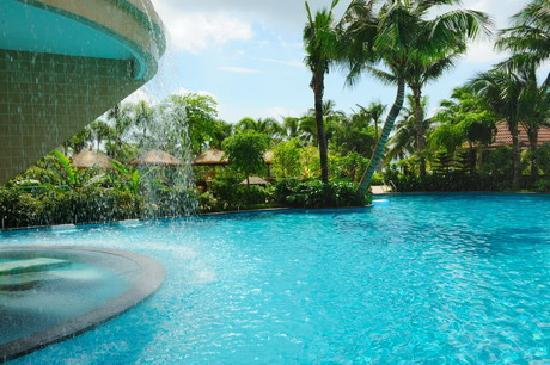 Shengyi Hotel Haiyue Plaza: 外边的游泳池。。。
