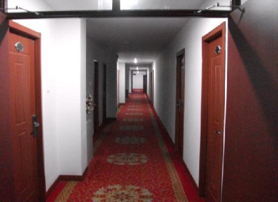 Xiqing Hotel: 酒店内部走廊