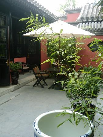 DuGe Boutique Hotel: 庭院