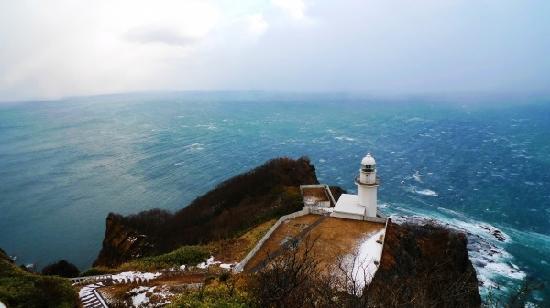 Hokkaido, Japonya: 室兰的地球岬,180度的好视野。