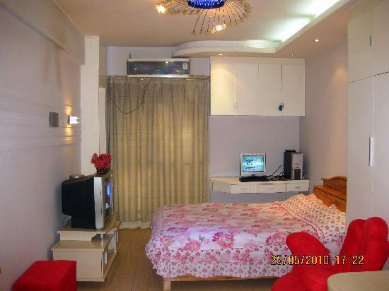 Dihu Home Apartment Hotel: 郑州帝湖之家酒店公寓客房实景