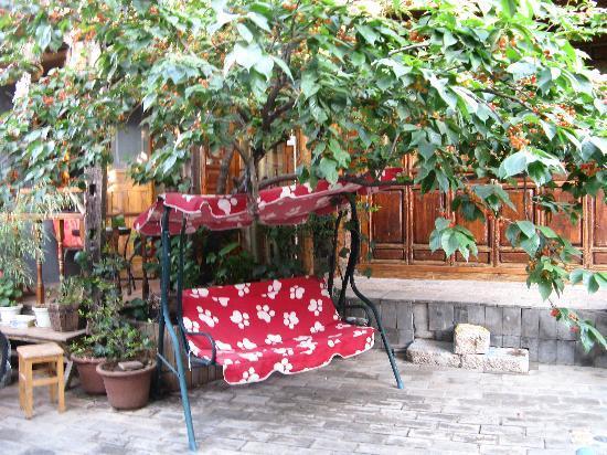 Chaofeng Hostel: 樱桃树和秋千