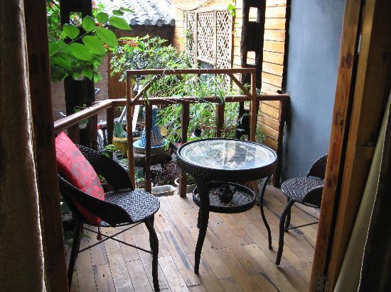 Chaofeng Hostel: 小憩的阳台