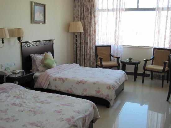Jinhong Garden Hotspring Hotel : 室内