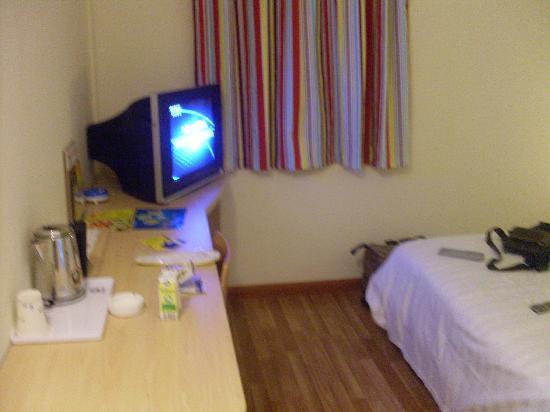 7 Days Inn Nanning Taoyuan Road: 温馨的卧室