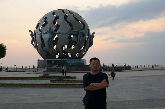 Beihai Music Fountain: 来张合影先