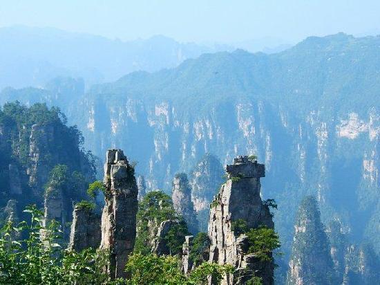 Zhangjiajie, Chine : 11111