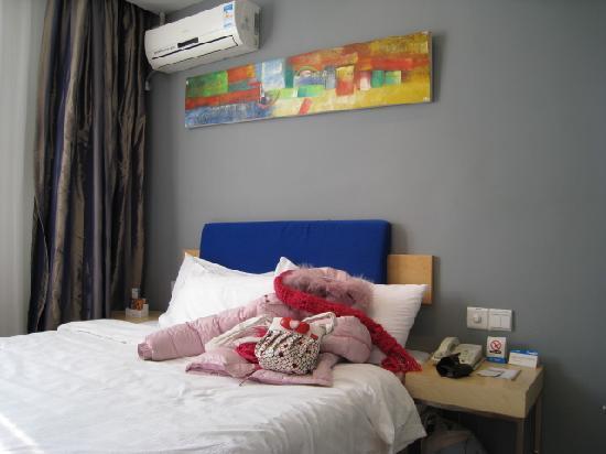 Home Inn (Zhuhai Xiangzhou): 床品比较舒服