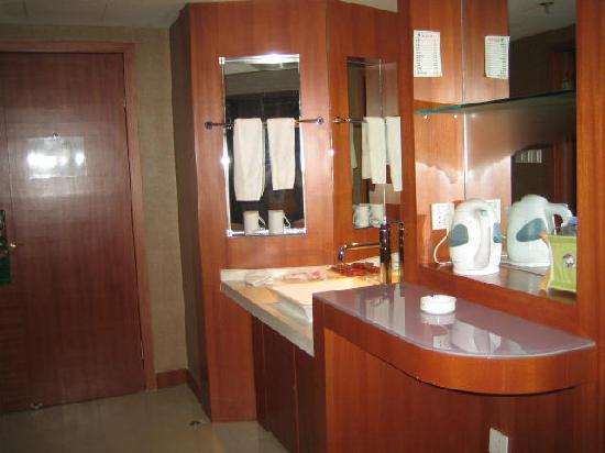 Hongma Times Plaza Hotel: 洗手台