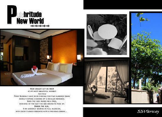 Hotel Villa Sunset Boracay: 标准间&通往海边的小路