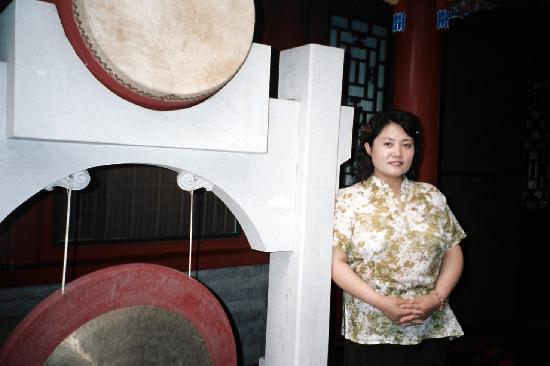 Beijing, China: 2008年7月拍摄于正乙祠前廊