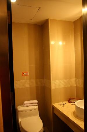 Motel 168 Shanghai Tianshan Road: 卫生间