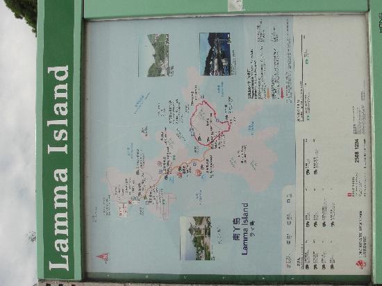 Lamma Island: 景区图