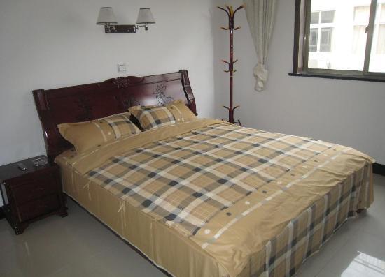 Lvyou Hostel Mount Jiuhua : 温馨大床房