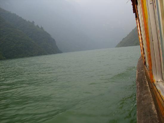 Wushan County, Китай: 神女溪