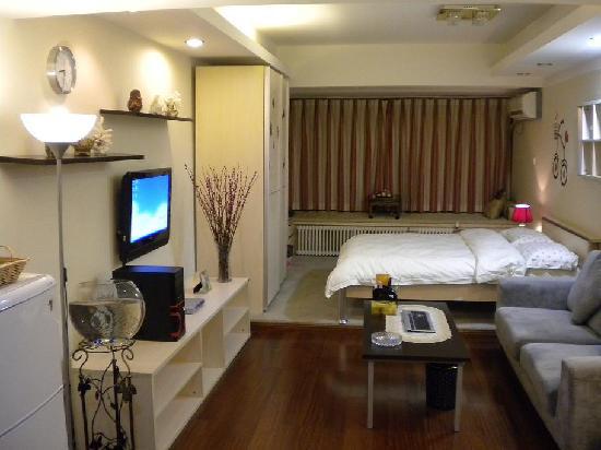 Hengrui International Apartment Hotel: 温馨典雅的酒店客房