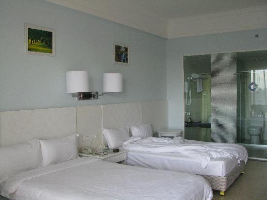 Dongfang Liangzhi Seaview Hotel : 双床间