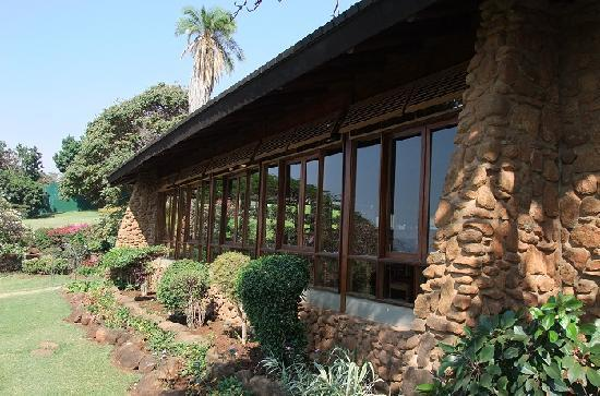 Lake Manyara Hotel : 餐厅一角