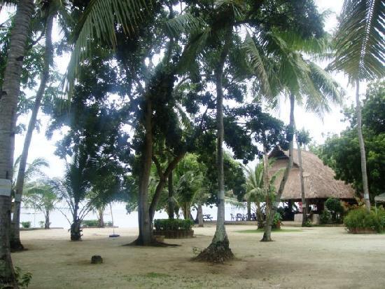 Tambuli Beach Club East Wing: 房间外景色