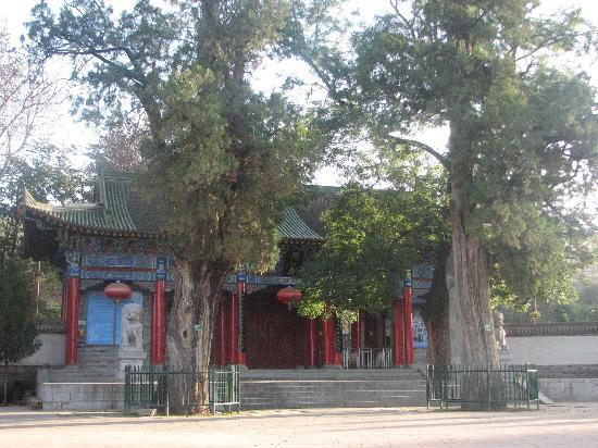 Qishan County, Kina: 周公庙山门