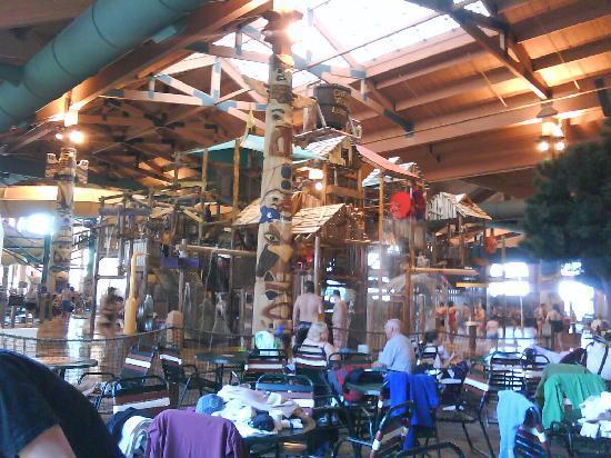 Great Wolf Lodge: 超好玩的Water Park