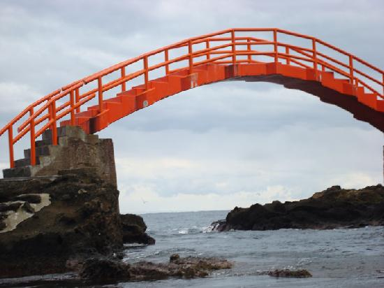Sado, Japan: 矢島经島一景