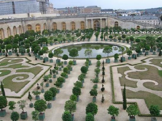 Paris, Frankrig: 凡尔赛宫花园