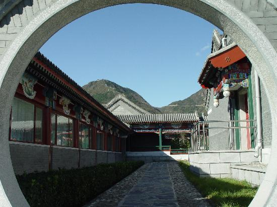 Ternary Xiangshan Business Hotel: 客房区门