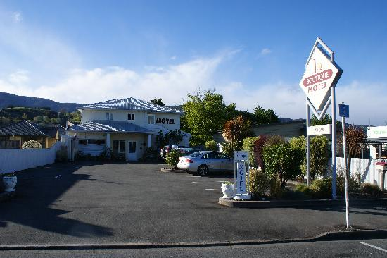 Boutique Motel Nelson: 酒店外观