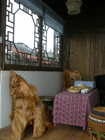 Ruanguixuan Inn : 客栈二楼公共休息地