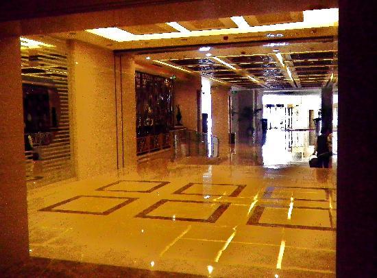 Shimao Haiyue Hotel: 很是气派的大堂