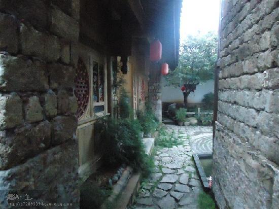 Migrant Hostel: 客栈厕所出来的拐角