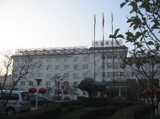 Jia Zhou Hotel: 酒店迎宾楼