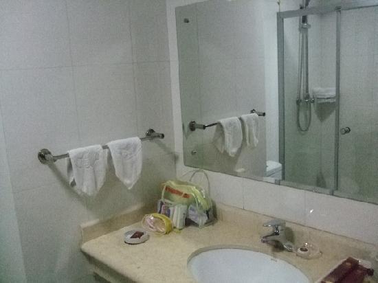 Hongtai Hotel: 卫生间