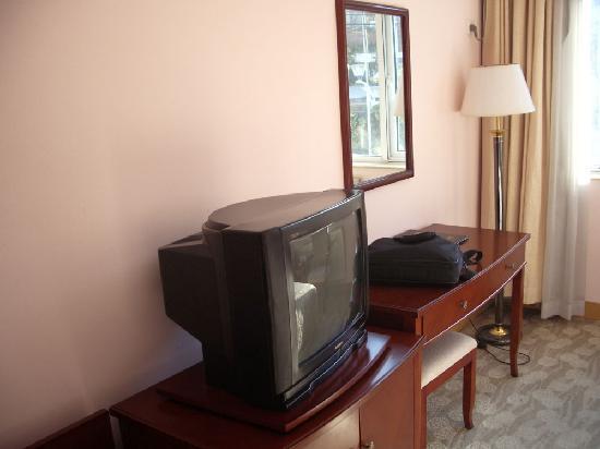 Bijia Resort: 双人标间-电视