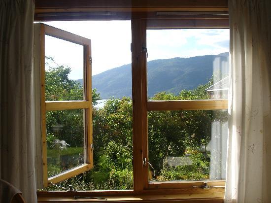 Andalsnes Vandrerhjem : 从窗户望出去