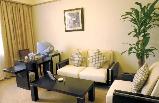 Taoran Garden Hotel : 豪华的套房客厅
