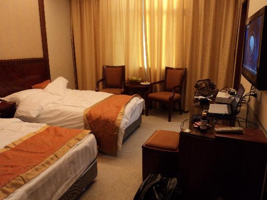 Meiyuan Hotel of Nanjing Air Force : 房间内