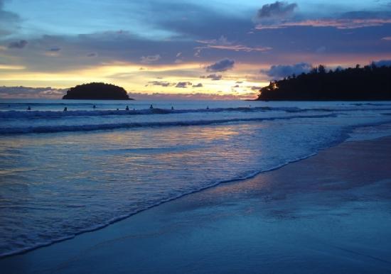 PP Princess Resort: 酒店前的那片海
