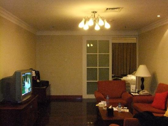 Metropark Hotel Shenzhen: 套房厨房